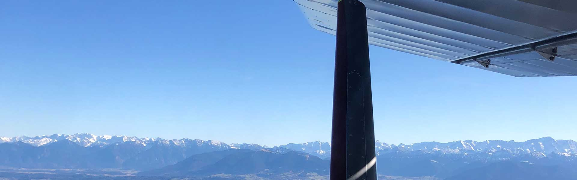 Flug-Informationen zum Rundflug Bayern mit dem Ultraleichtflugzeug